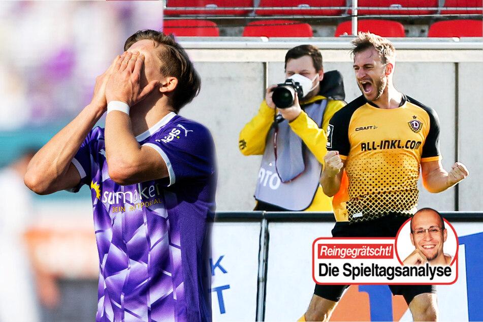Dynamo und Rostock halten Druck stand, Mainz muckt auf, Osnabrücks Krise hält an!