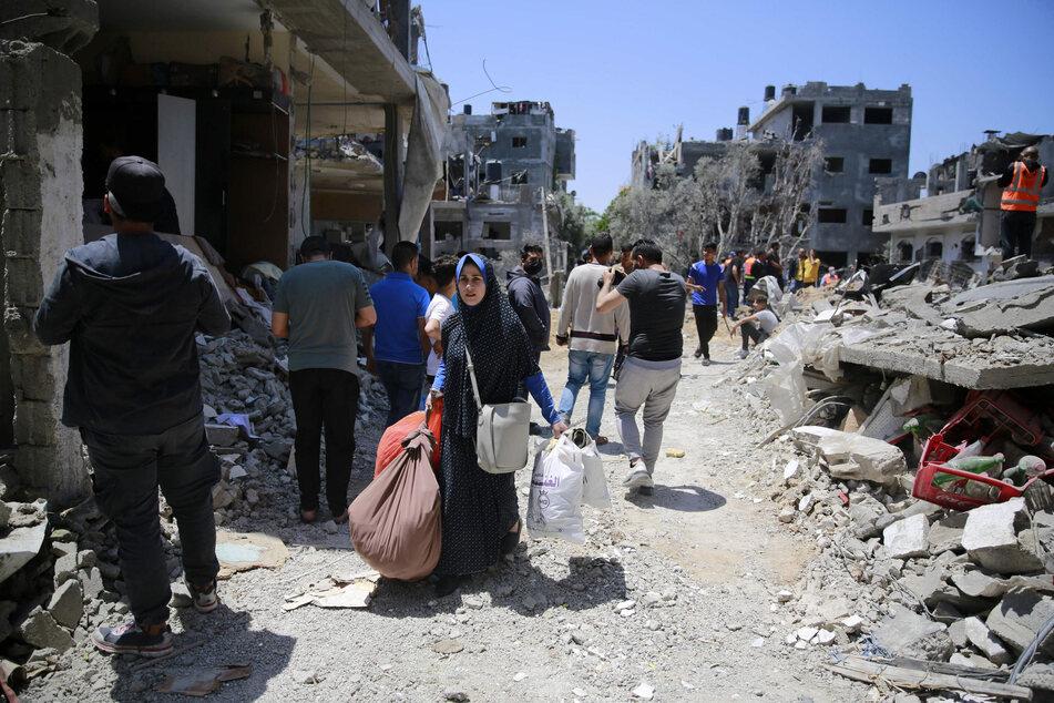 Militante Palästinenser schießen Raketen - Israel greift in Gaza an