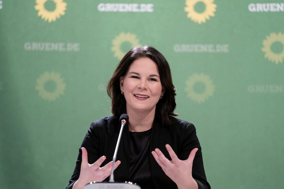 Annalena Baerbock ist die Bundesvorsitzende von Bündnis 90/Die Grünen.