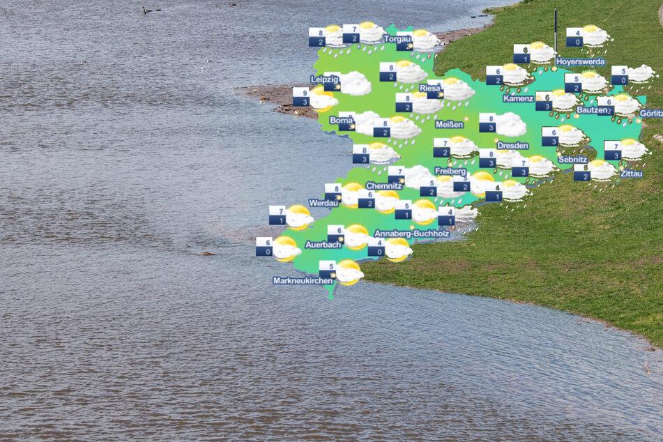 Tauwetter und Regen: Jetzt steigt Hochwassergefahr in Sachsen!