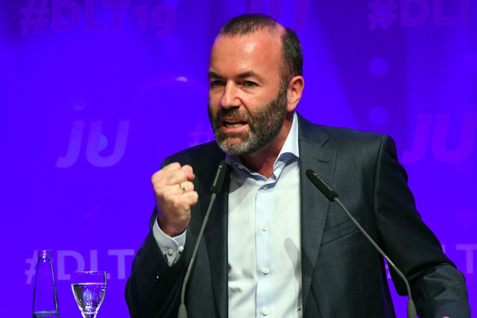 Der EVP-Vorsitzende Manfred Weber (CSU, 49) will die Grenzen sichern.