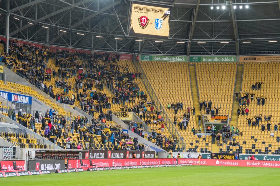 Nur 999 Fans sahen den Elb-Clasico gegen Magdeburg. Im Sachsenderby gegen Zwickau am Dienstag werden es definitiv nicht mehr, da die Infektionszahlen weiter gestiegen sind.