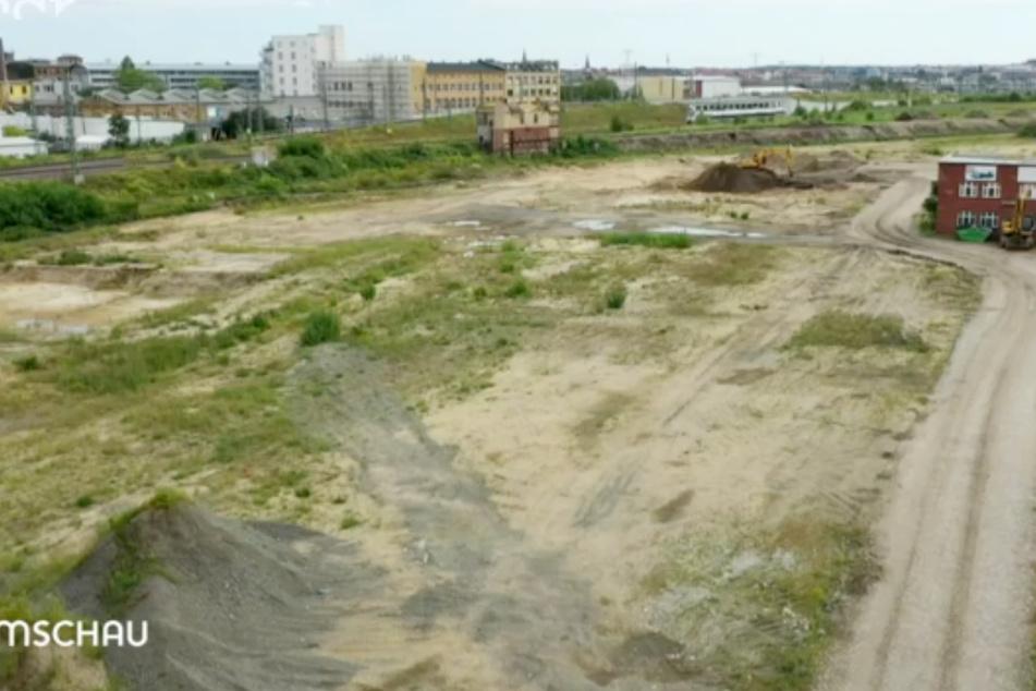 Die Fläche des ehemaligen Eutritzscher Freiladebahnhofs wird seit mehreren Jahren von einem Investor zum nächsten gereicht.