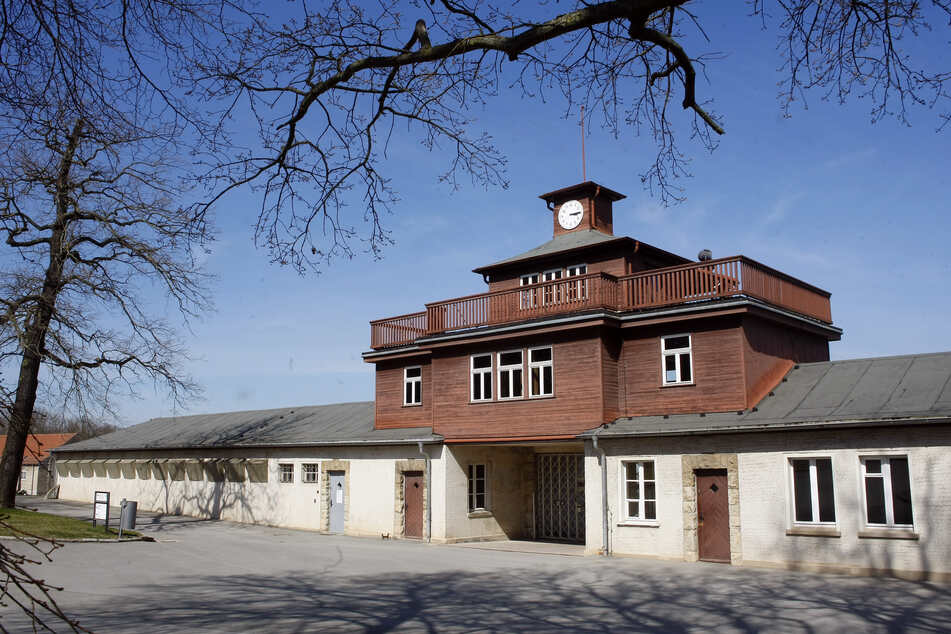 Das Außengelände des KZ Buchenwald bleibt weiter zugänglich.