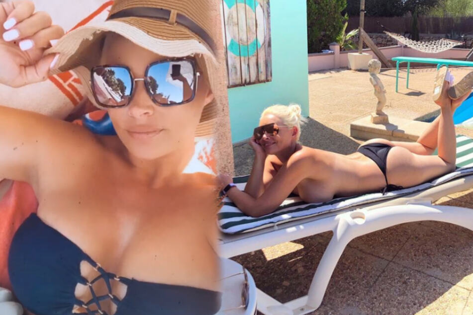 Daniela katzenberger topless