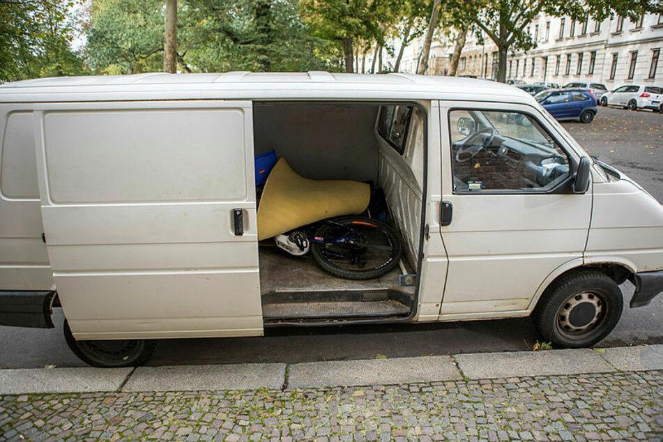 Im polnischen Transporter des Litauers entdeckten die Beamten das geklaute E-Bike mit dem GPS-Sender.