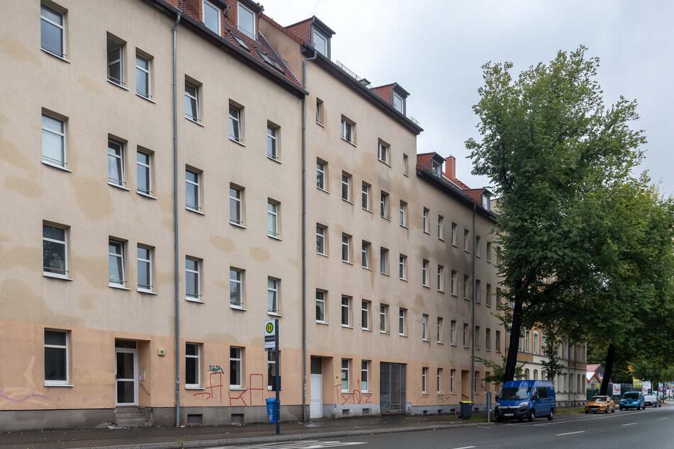 In der Blankenauer Straße kam es im Mai 2019 zum Gurkenglas-Unfall.