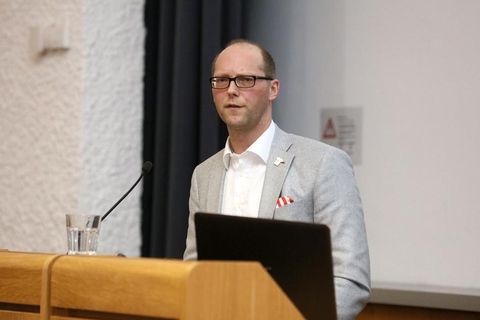 Zwickaus Vorstandssprecher Tobias Leege ist ein Gegner von Geisterspielen.