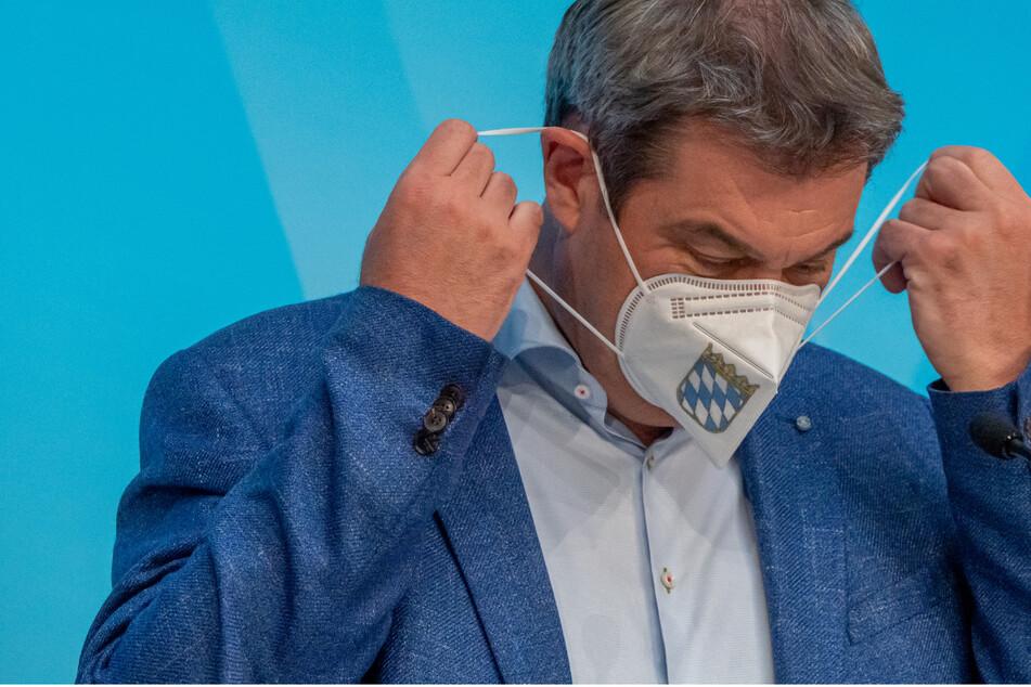 Markus Söder (54, CSU), Ministerpräsident von Bayern, ist gegen die Lockerung der Maskenpflicht.