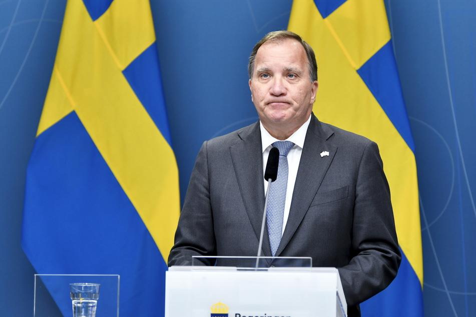 Stefan Löfven (63), Premierminister von Schweden, kündigte seinen Rücktritt an.