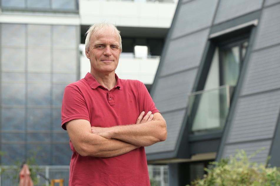 Stadtrat Bernhard Herrmann (54, Grüne) kritisiert den Investitionsrückstau beim Chemnitzer Abwassersystem.