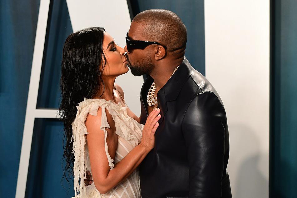 Im Februar 2020 hatten sie sich noch lieb: Kim Kardashian und Ehemann Kanye West (43, l).