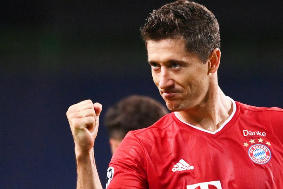 Robert Lewandowski (31) und der FC Bayern München treffen im Endspiel der Champions League in Lissabon auf Paris Saint-Germain.