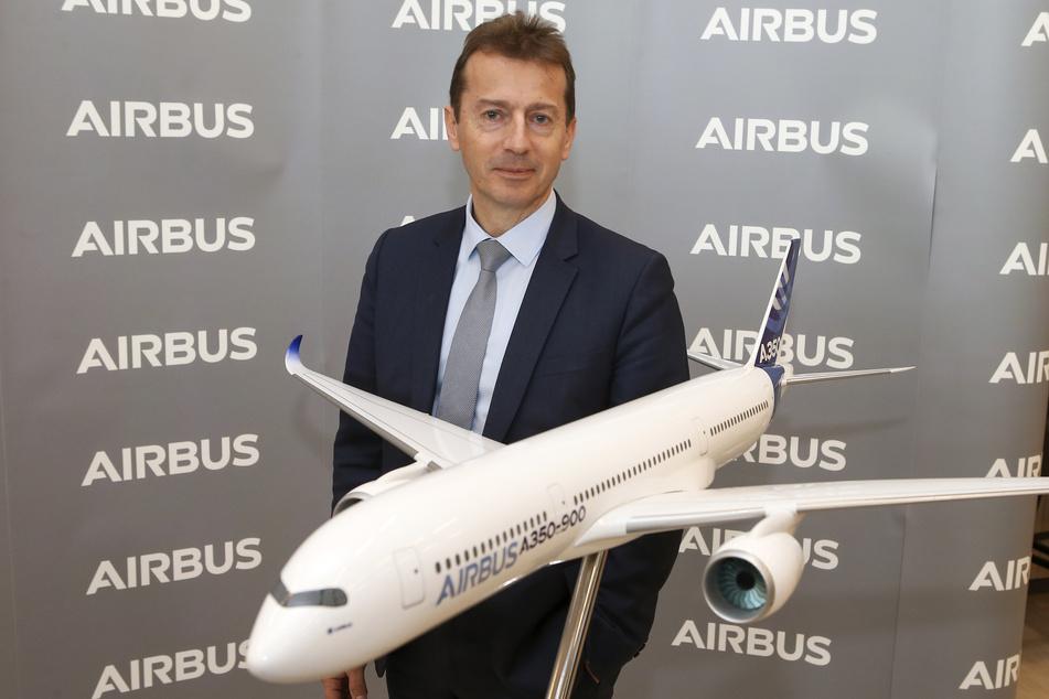 Airbus-Chef Guillaume Faury (52). (Archivbild)