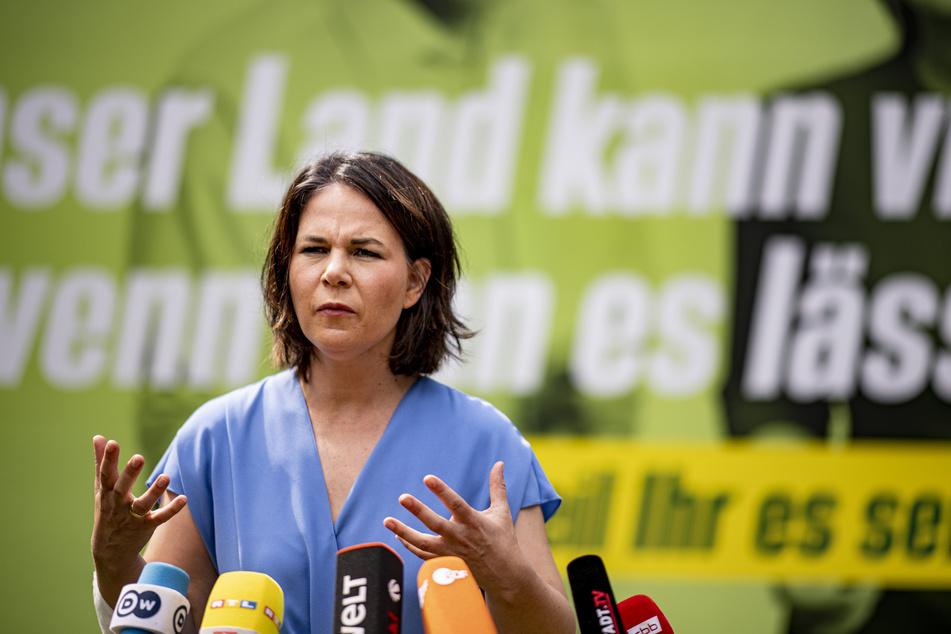 Grünen-Kanzlerkandidatin Annalena Baerbock (40).