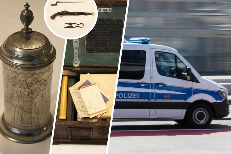 Dresden: Für 30.000 Euro im Museum geklaut: Polizei schnappt mutmaßliche Täter und Diebesgut!
