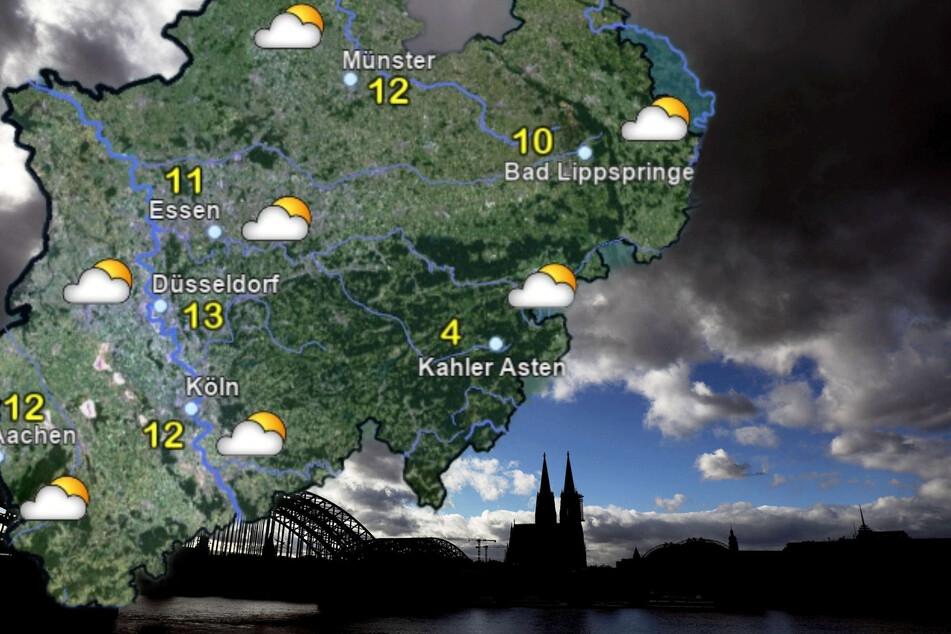 Viele Wolken und Regen: Das Wochenend-Wetter in NRW wird ungemütlich