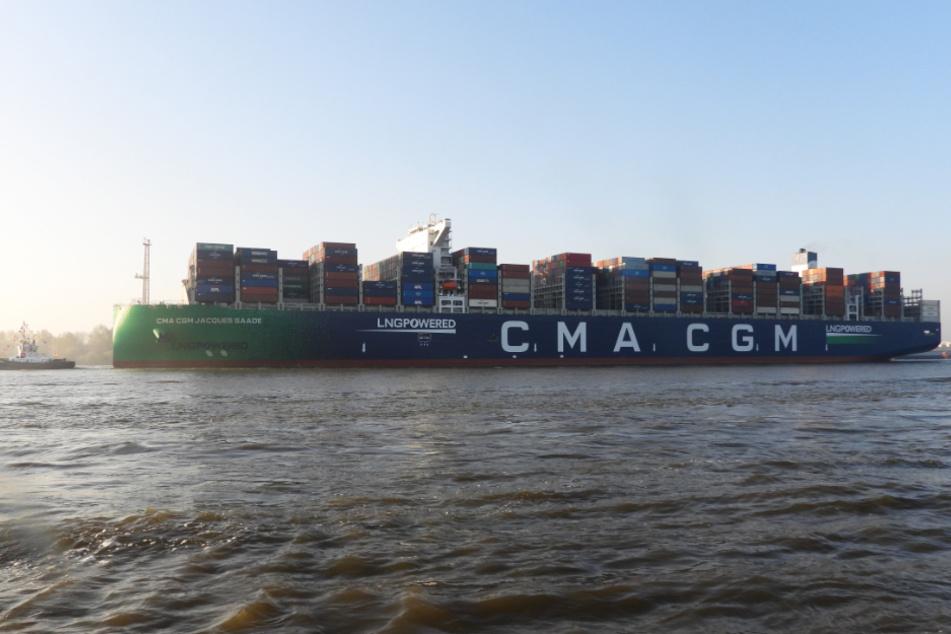 Hamburg: 400 Meter lang: Größtes Erdgas-Schiff der Welt in Hamburg zu Gast