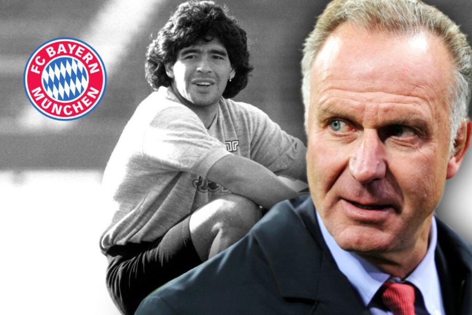 Nach Tod von Legende: Karl-Heinz Rummenigge würdigt Diego Maradona