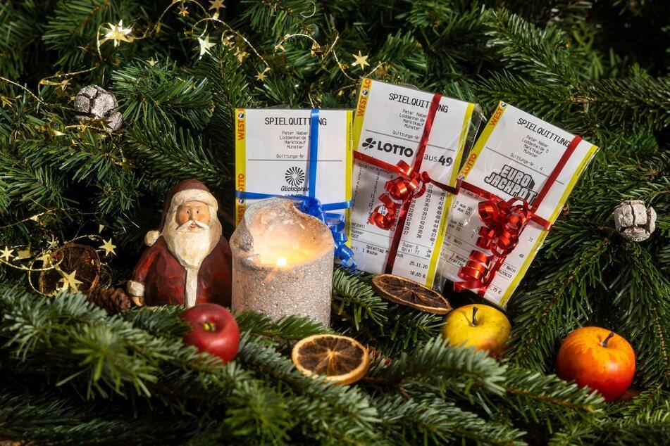 NRW hat vier neue Millionäre. Die Lotto-Spieler haben über Weihnachten die richtigen Kreuzchen gesetzt und eine riesige Geldsumme abgeräumt.