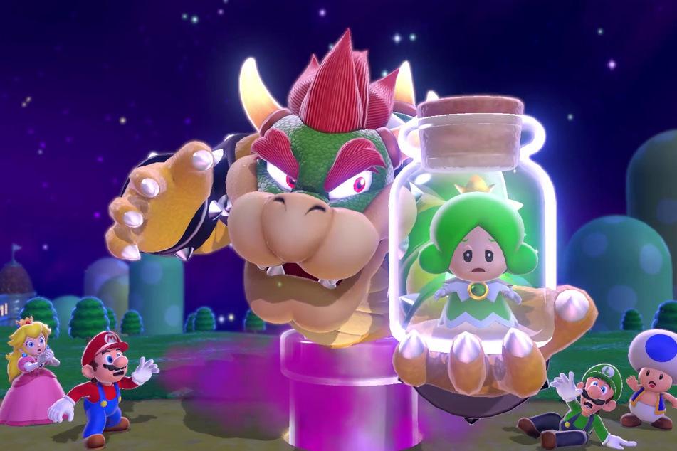 """Bösewicht Bowser macht auch in """"Super Mario 3D World"""" mächtig Ärger. Doch wie immer fällt dem Klempner sicherlich etwas ein, um den Obermotz zu stoppen."""