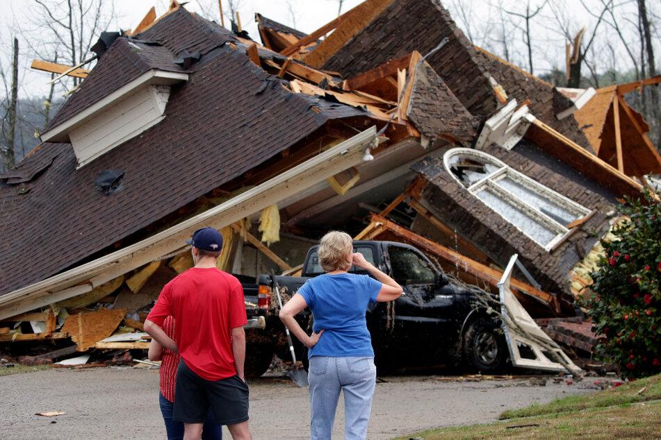 Fünf Tote nach heftigen Tornados: Unwetter noch nicht zu Ende