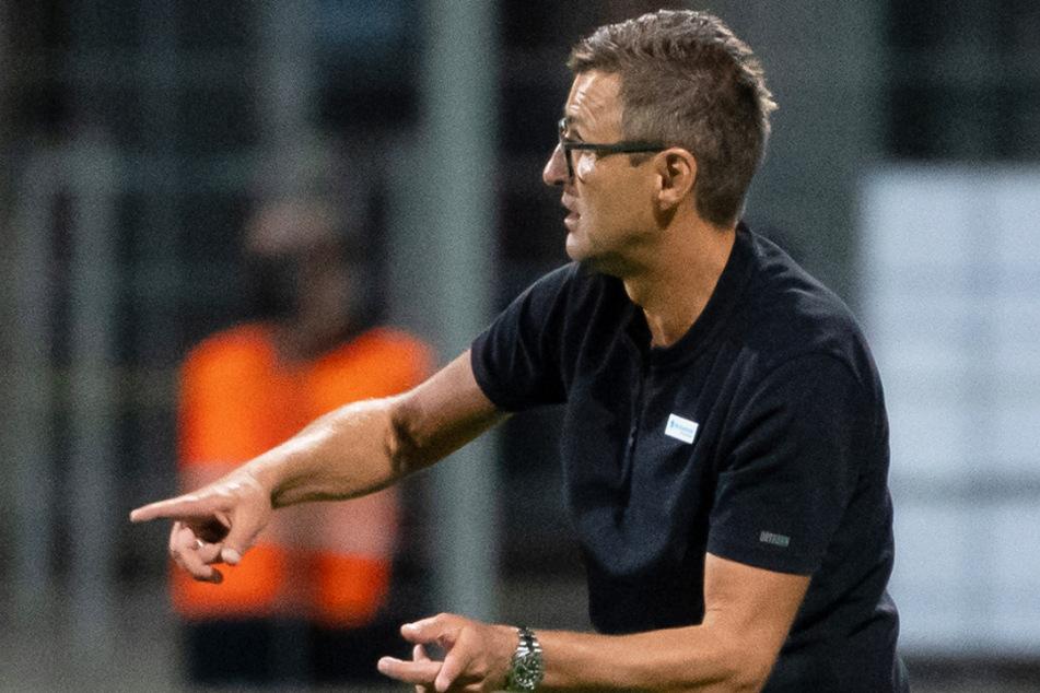 Trainer Michael Köllner (51) will mit dem TSV 1860 München im Heimspiel gegen den SV Meppen unbedingt drei Punkte einfahren.