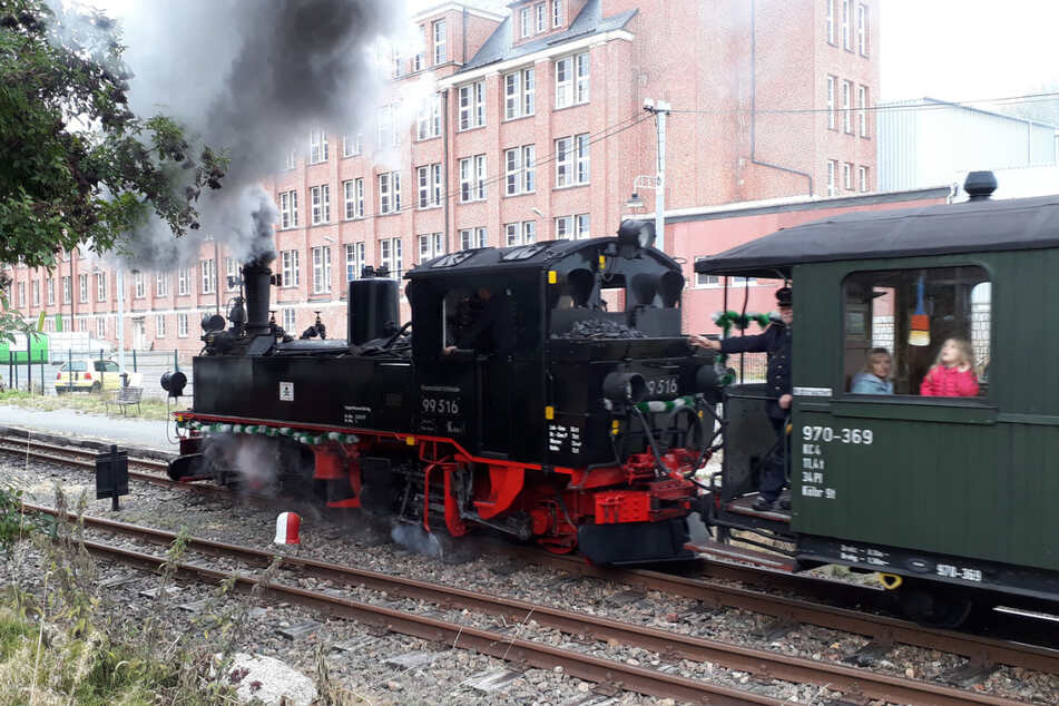 Eine Rundfahrt für Groß und Klein - die Erlebnisfahrt mit der Museumsbahn Schönheide.