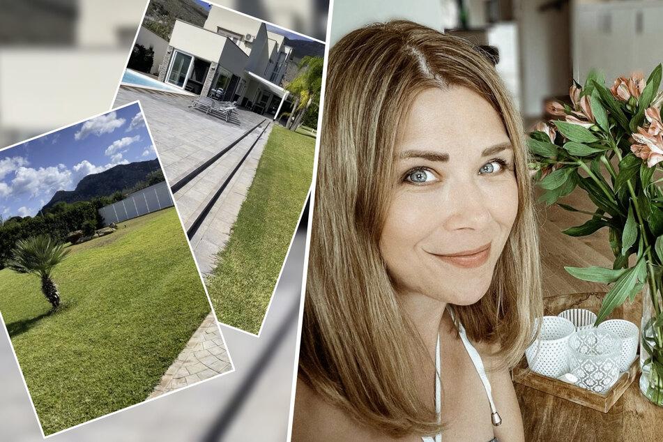 Endlich Urlaub! So luxuriös wohnt Tanja Szewczenko auf Sizilien