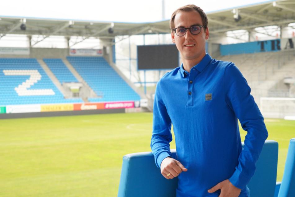 Seit März ist Marcus Jahn ein Himmelblauer.