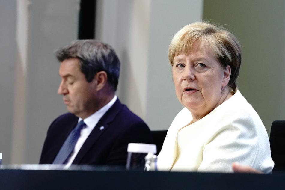 Deutschland am Scheideweg: Das planen Merkel und Söder zwischen dritter Welle und Lockdown-Frust