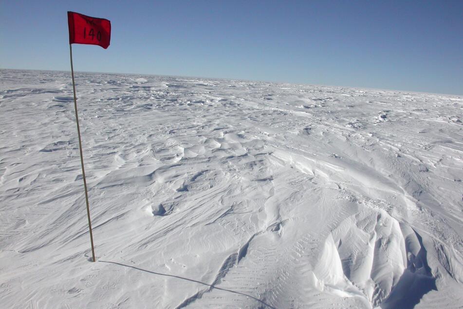 Eine Forschungsstation in der Nähe von Wostok - hier wurde die niedrigste je gemessene Temperatur gemessen.