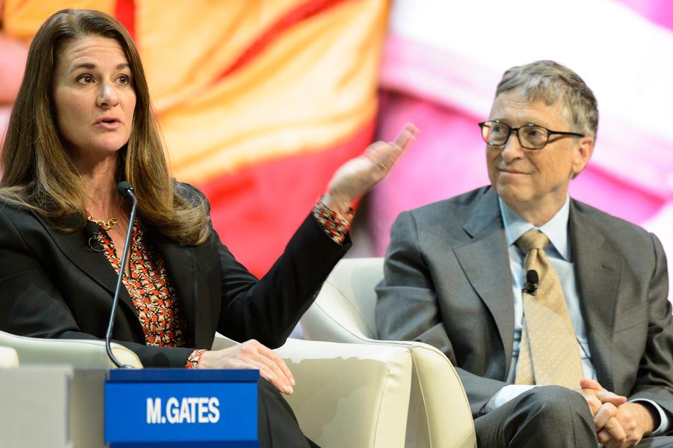 Bill (65) und Melinda Gates (56) beim Weltwirtschaftsforum in der Schweiz 2015. Die beiden lernten sich 1987 kennen. (Archivbild)
