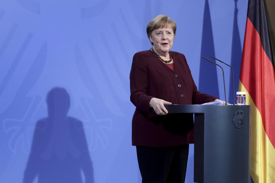 Bundeskanzlerin Angela Merkel (66, CDU) möchte den Lockdown bis in den April hinein verlängern.