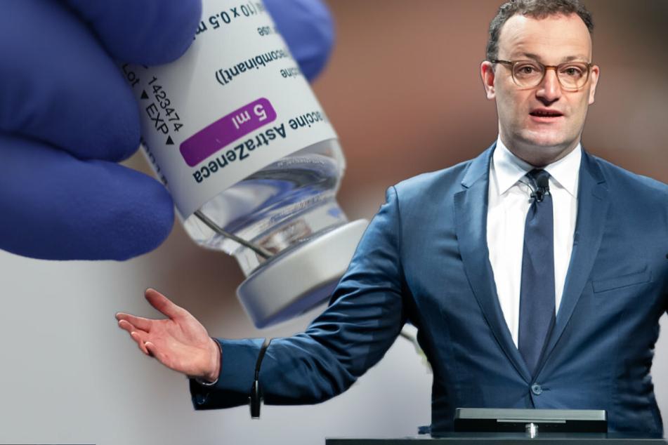 Spahn will AstraZeneca-Impfstoff ab sofort für alle freigeben!