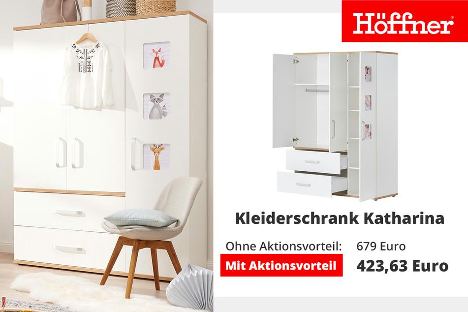 Kleiderschrank 3-türig Katharina