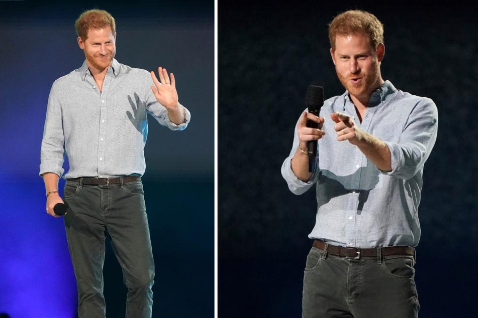 """Prinz Harry spricht vor Publikum: """"Pandemie kann nur enden, wenn wir gemeinsam handeln"""""""