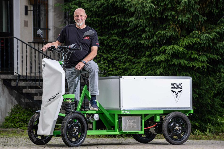 VOWAG-Chef Sven Knorr (58) hofft, dass seine Idee in vielen Branchen großen Anklang findet.