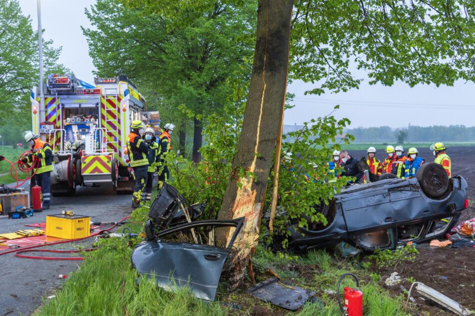 Tödlicher Unfall auf der Landstraße: 28-Jähriger hat keine Chance