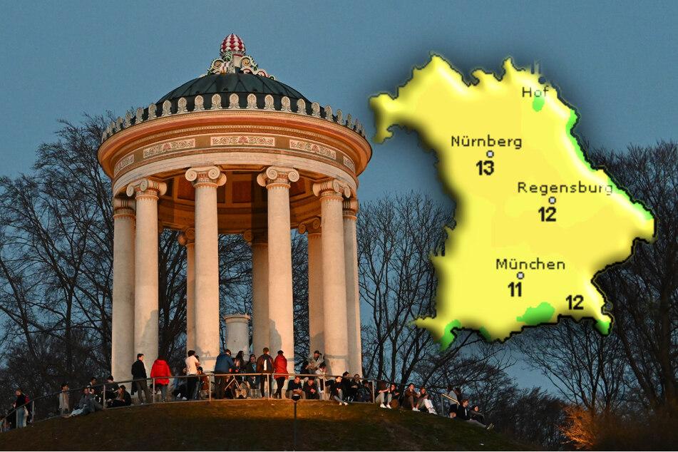 Überwiegend freundlich: So wird das Wetter am Wochenende in Bayern