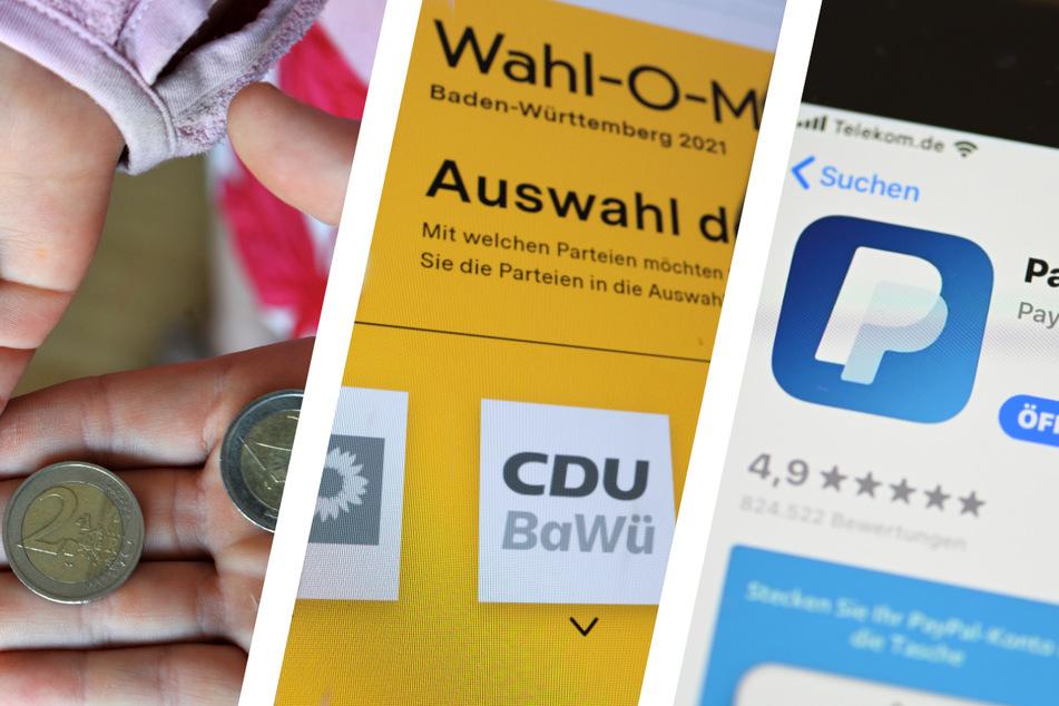 In Sachen Elterngeld, Wahl-O-Mat und Paypal wird sich im September was ändern.