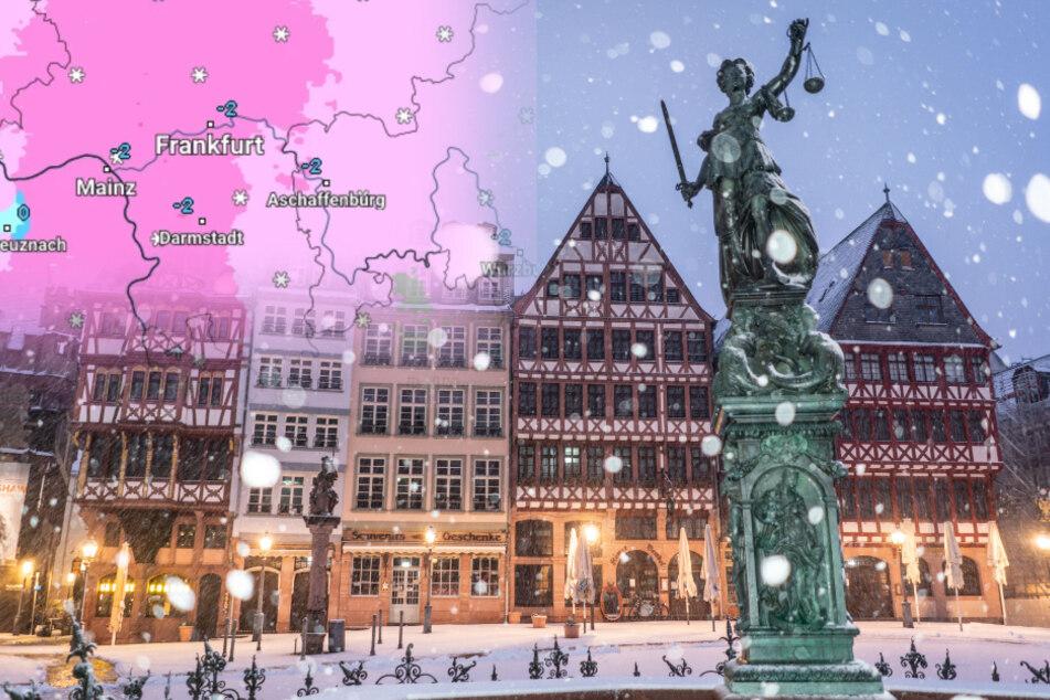 Neuschnee, Dauerfrost, Glätte: Der Winter hat Hessen weiter fest im Griff