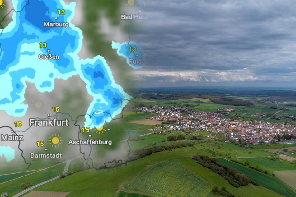 Es bleibt auch in den kommenden Tagen kühl, windig und nass in Hessen.
