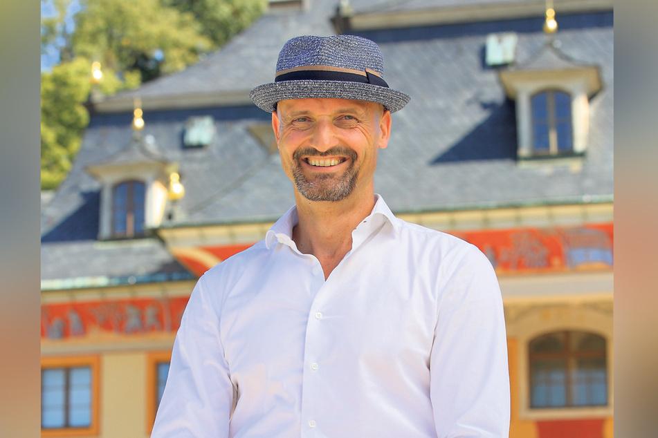 Kaum im Amt, schon darf er eine Wiedereröffnung feiern: der neue Schlossleiter Dirk Welich (53).