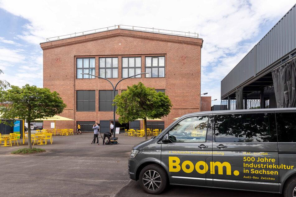 Der Audi-Bau in Zwickau bot als Ausstellungshalle eine geniale Kulisse für die Schau über Industriekultur und -geschichte.