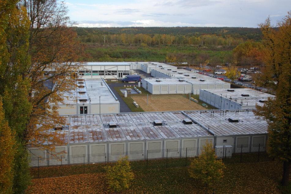 Die Flüchtlingsunterkunft auf dem Gelände der Landesdirektion geht im Januar in Betrieb.