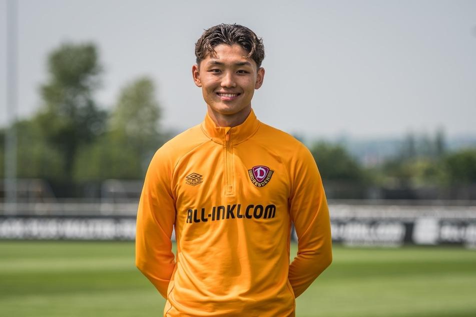 Jong-min Seo (19) wird bei Dynamo Dresden einen Dreijahresvertrag unterschreiben.