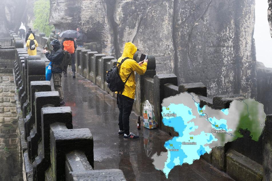 Trübe Wetteraussichen in Sachsen: So wird's am Wochenende