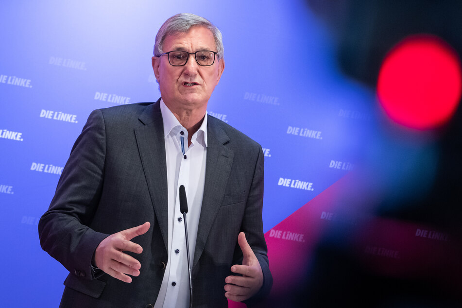 """Bernd Riexinger (65, Die Linke) nannte die Wahl eine """"Schande""""."""