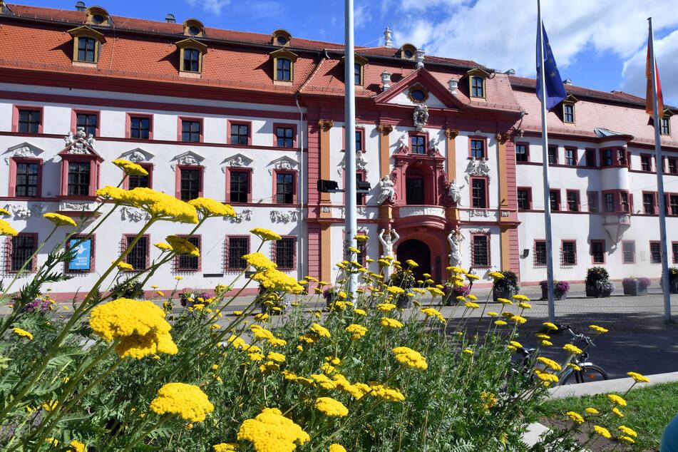 """Die Staatskanzlei in Erfurt: Bei der Thüringer Landesregierung hat es in letzter Zeit """"Phishing-Attacken"""" gegeben."""